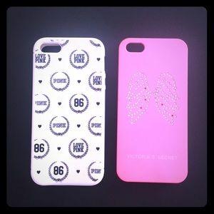 Victoria Secret/PINK IPhone 5/5S cases
